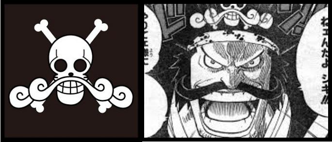 ワンピースのロジャーの海賊旗