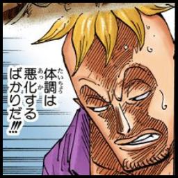 白ひげの体調悪化とマルコ