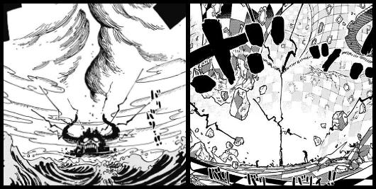 ワンピースの覇王色の衝突