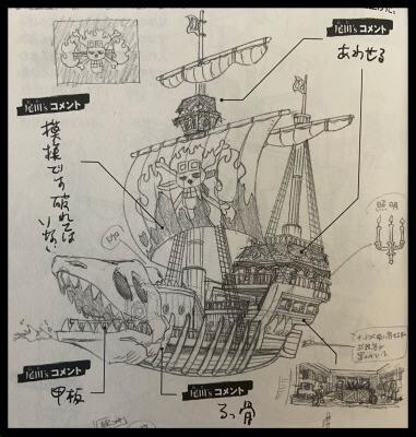 キッド海賊団の「ヴィクトリアパンク号」